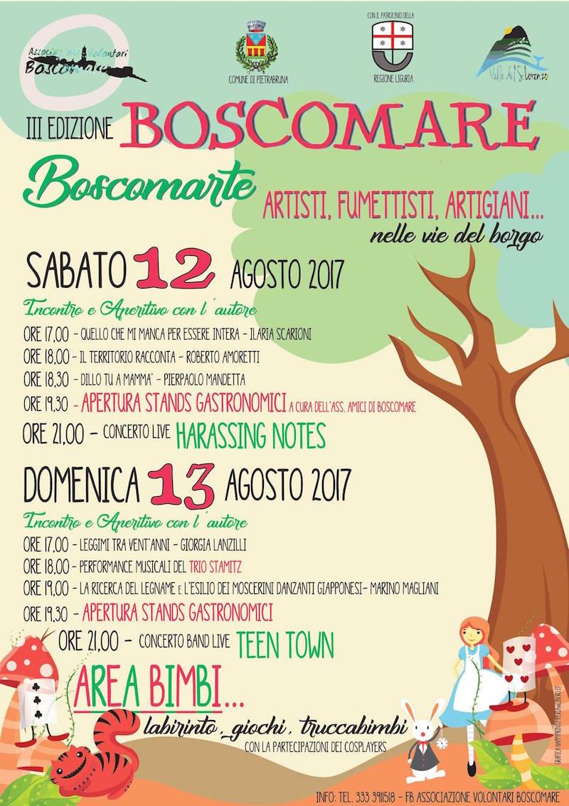 locandina boscomarte 2017